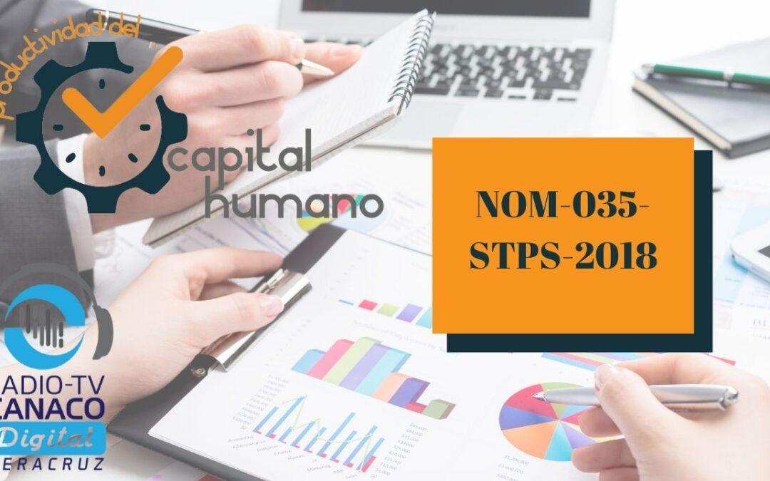 Tema: «NOM-035-STPS-2018»