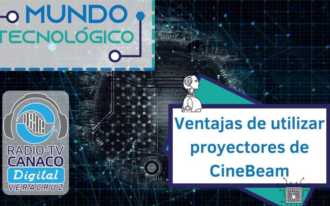 Ventajas de utilizar proyectores de CineBeam 💻
